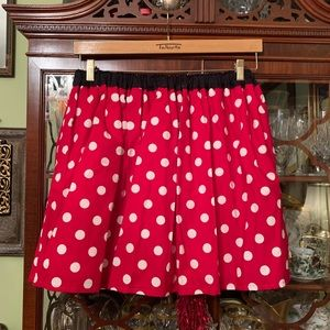 Dresses & Skirts - Red and white polka dot skirt